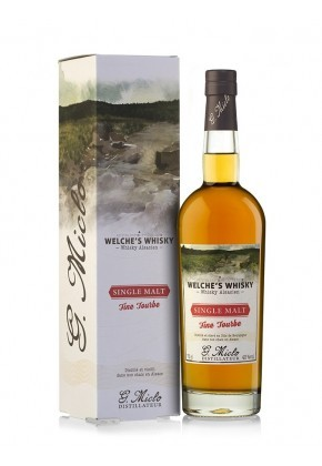 MICLO WHISKY FINE TOURBE WELCHE'S 43