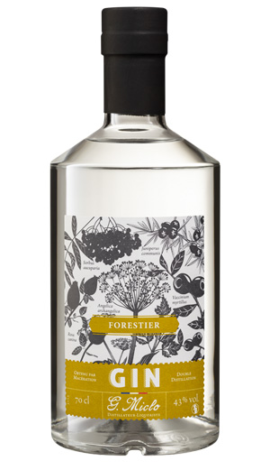 GIN MICLO FORESTIER 43% 70CL